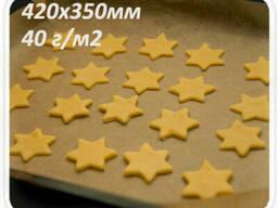 Бурый пергамент 40 г/м2 в пачках 420х350мм