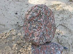 Бутовый камень фракция 150-400 мм ( красный )