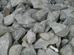 Бутовый камень гранитный 150-400 мм с доставкой