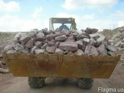 Бутовый камень, отсев, щебень с доставкой в Мариуполь