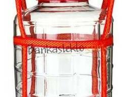 Бутыль стеклянный 5 л, 10 л, 18 л, 22 л, 25 л литров