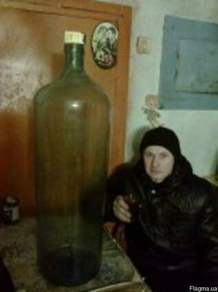 Бутыль для вина антиквар редкий качественный 35литра