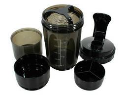 Бутылка для воды из трех слоев Spider HC801 500ml Черный (4893-14308)