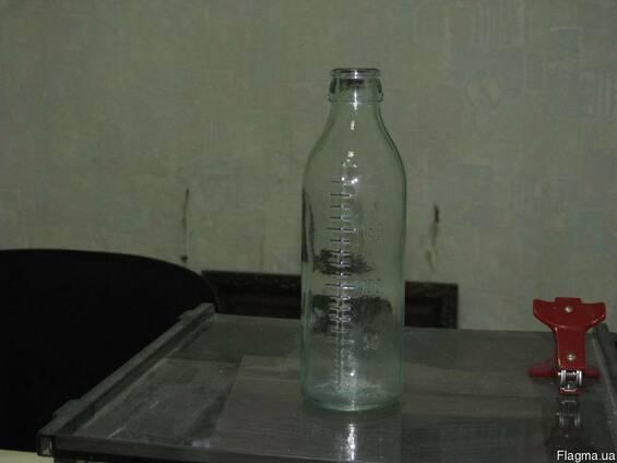 Бутылка мерная 200 мл с градуировкой.