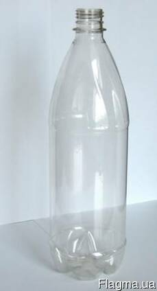 Бутылка ПЭТ, крышка пластиковая