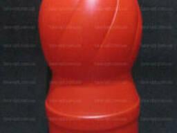 Бутылка красная для соуса, кетчупа, сиропа, майонеза, 1. ..