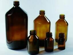Бутылки для химии с узкой горловиной, темное стекло, ОПТОМ