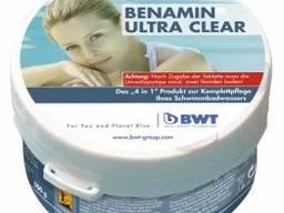 Мультифункцилнальное средство в таблетках 4 в 1 BWT Benamin Ultra Clear 0,5 кг
