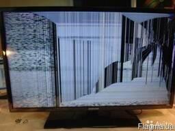 Быстро купим битые ЖК телевизоры на запчасти!
