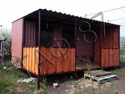 Дачный домик 6х2,4х2,3м, бытовка, садовый домик