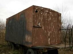 Бытовка, вагончик на колесах