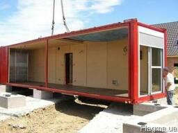 Дачные домики из контейнеров