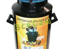 Бытовой автоклав для консервации Черный Винт (1л-12шт. ..