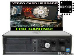 Бюджетный игровой Dell OptiPlex 780 / 4-Ядра Core 2 Quad Q83