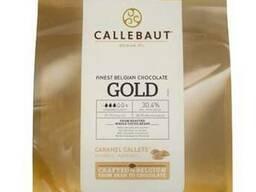 Callebaut Gold белый шоколад с карамелью