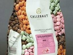 Callebaut Розовый шоколад со вкусом клубники