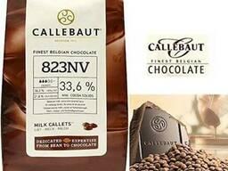 Callebaut шоколад для кондитерских изделий. Молочный