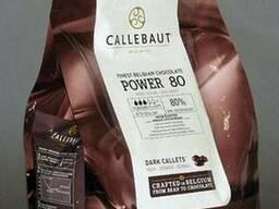 Callebaut Темный горький 80.1% шоколад