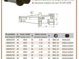 Цанговый патрон СК40 по DIN 2080