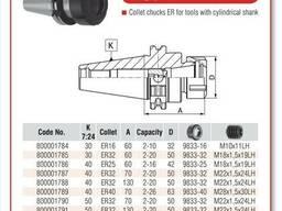 Цанговый патрон СК40 по DIN 69871