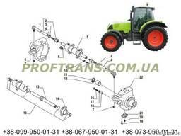 Цапфа CLAAS ARES 836 поворотный кулак CLAAS 836 рулевая тяга