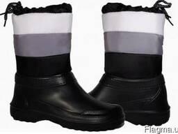 Cапоги женские, застежка шнурок.