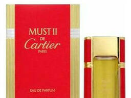 Cartier MUST II EAU Fraiche woman туалетная вода 100ml