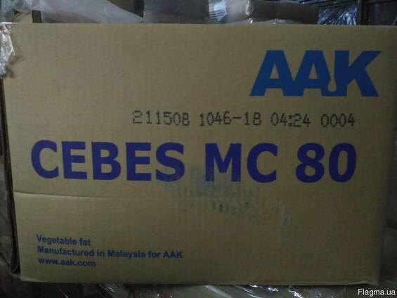 CEBES MC 80 лауриновый заменитель какао-масла, AAK Швеция