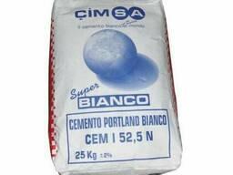 Цемент белый CIMSA 500 25кг