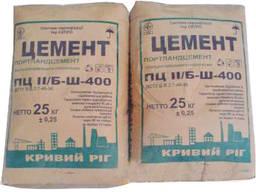 Цемент М-400, ПЦ ІІ Б-Ш, 25кг