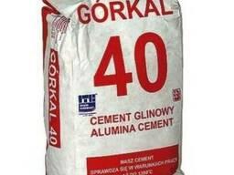 Цемент огнеупорный Gorkal -40-50-70