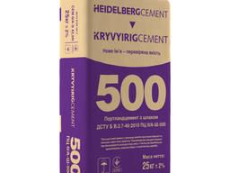 Цемент ПЦ ІІ/А-Ш-500 високоміцний та технологічний