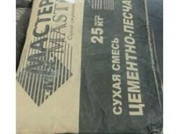 Цементно-песчаная смесь М-200 25 кг