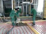 Цементно-піщана стяжка для теплої підлоги - фото 3
