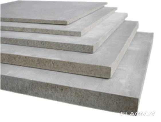 Цементно-стружечная плита 3,2x1,2x10мм для каркасных констр.