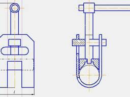 Центратор (струбцина) для труб