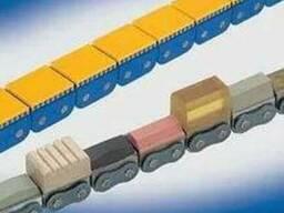 Цепи тяговые роликовые с резиновым покрытием