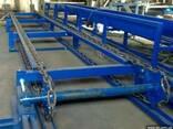 Цепной двухрядный транспортер, конвейер - фото 1