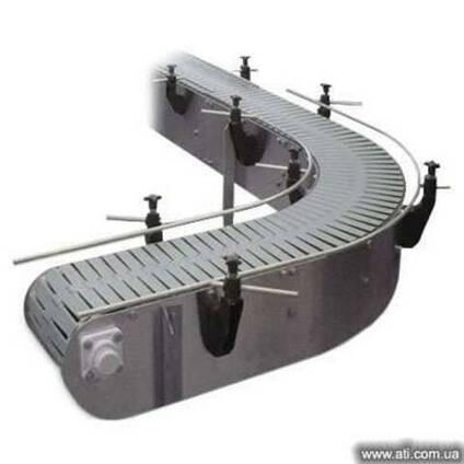 Цепной пластинчатый конвейер (транспортер) ТРЦ
