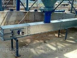 Конвейер цепной скребковый ТСЦ- 175 т/ Редлер для зернопродуктов - Скребковый транспортер.
