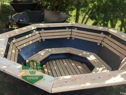 Чан Карпаты для купания на дровах Чан для бани молодильный