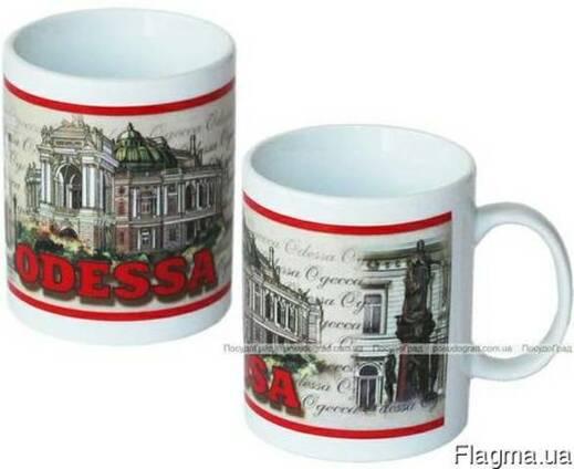 Чашка Одесса Архитектура, Сувениры из Одессы.