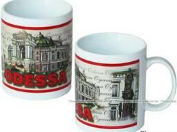 Чашка Одесса Архитектура, Сувениры из Одессы. - фото 1