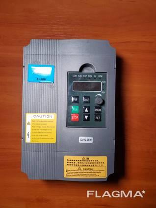 Частотник 2,2квт 220В для электродвигателя до от 0,25 до 2,2