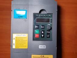 Частотник 2, 2квт 220В для электродвигателя до от 0, 25 до 2, 2