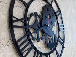 Часы (годинник) настенные металлические объемные Ш1