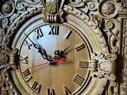 Часы настенные деревянные 380*380*40мм