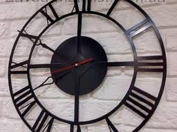 Часы настенные металлические Л1