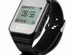 Часы пейджер для официантов с русским меню Retekess TD108, черные