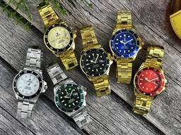 Часы Rolex Submariner 2128 Кварцевые. Бесплатная Доставка!
